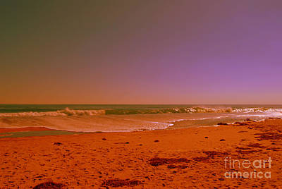 Photograph - Hampton Beach Mid October by Eunice Miller