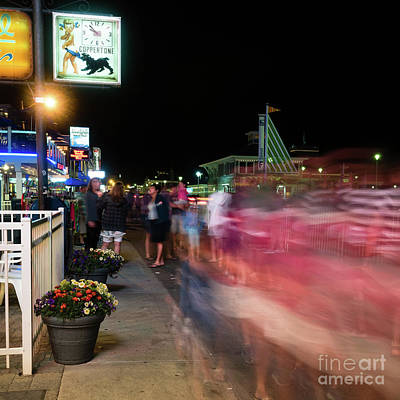 Photograph - Hampton Beach, New Hampshire #110544-47 by John Bald