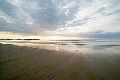 Photograph - Hampton Beach Sunrise Hampton Beach State Park Hampton Nh by Toby McGuire