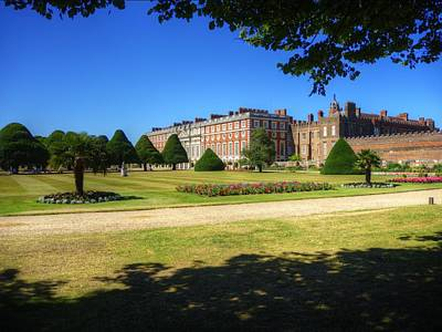 Photograph - Hampton Court by Chris Day