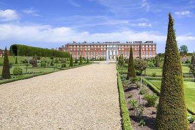 Hampton Court Palace - England Art Print