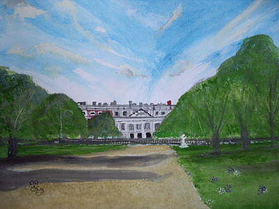 Painting - Hampton Court Palace by Carole Robins