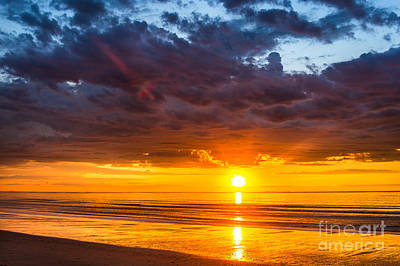 Photograph - Hampton Sunrise by Joshua Blash