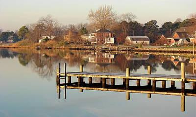 Photograph - Hampton Virginia Sunrise by Brett Winn
