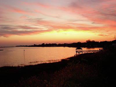 Photograph - Hampton Virginia Sunset by Brett Winn