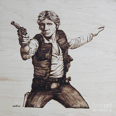 Han Solo Art Print by Chris Wulff