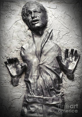 Photograph - Han Solo In Carbonite by Waldek Dabrowski