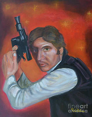 Han Solo Art Print by To-Tam Gerwe