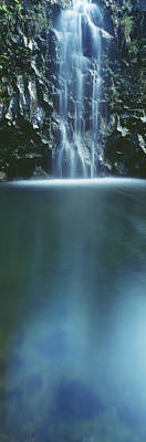 Photograph - Hana, Cascading Waterfall by Carl Shaneff - Printscapes