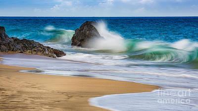 Photograph - Hanakapi Ai Beach 2 by Anthony Bonafede