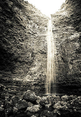 Photograph - Hanakapiai Falls, Kauai, Hi by T Brian Jones