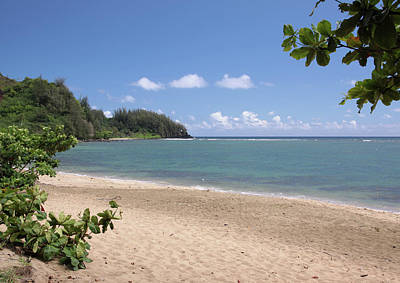 Photograph - Hanalei Bay Beach by Rau Imaging