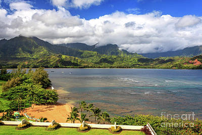 Photograph - Hanalei Bay by James Eddy