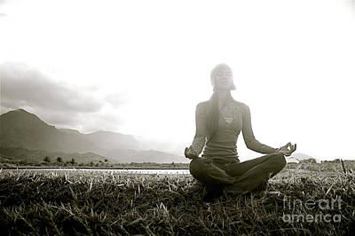 Hanalei Meditation Art Print by Kicka Witte - Printscapes