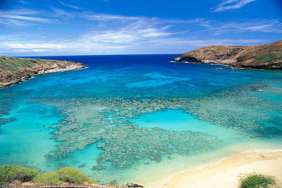 Photograph - Hanauma Bay by Peter French - Printscapes