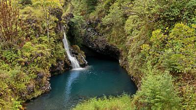 Photograph - Hanawi Falls by Susan Rissi Tregoning