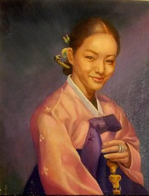 Hanbouck Woman Art Print