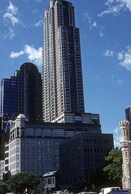 Photograph - Hancock Building by Gary Wonning