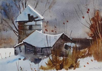Painting - Hancock Farm by Len Stomski