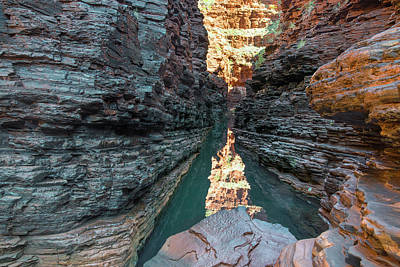 Photograph - Hancock Gorge by Martin Capek