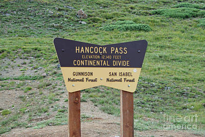 Photograph - Hancock Pass by Tony Baca