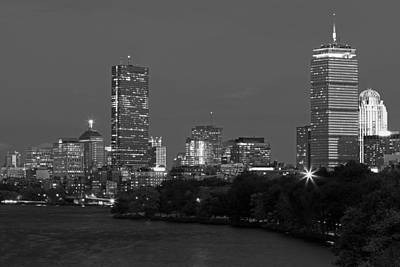 Photograph - Hancock Tower And Prudential Center by Juergen Roth