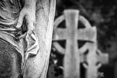 Photograph - Hand And Cross by Sonny Marcyan