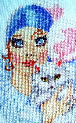 Tapestry - Textile - Hand Craft by Joyce Woodhouse