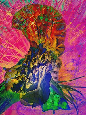 Digital Art - Hand Full Of Thoughts by Cleaster Cotton