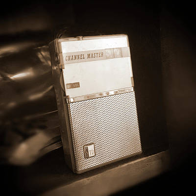 Hand Held Transistor Radio Art Print by Mike McGlothlen