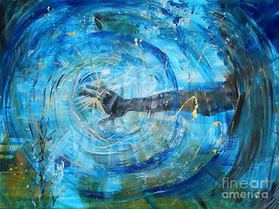 Painting - Hand Of God by Amanda Dinan