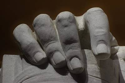 Photograph - Hand Of Lincoln by Buddy Scott