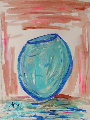 Painting - Hand Thrown by Mary Carol Williams