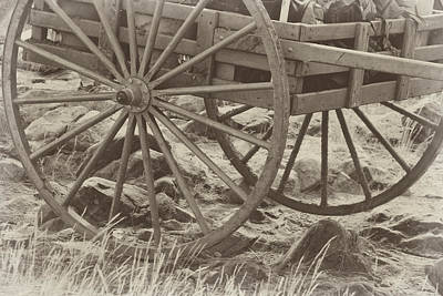 Photograph - Handcart by Marie Leslie