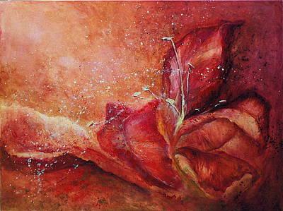 Handful Art Print by Aneta  Berghane