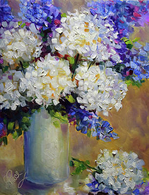 Painting - Handful Of White by Laurie Pace