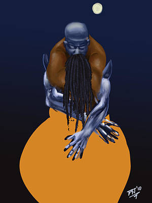 African-american Digital Art - Handfulls  by David James