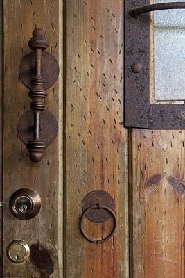 Photograph - Handles And Locks by Hany J