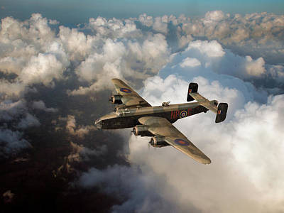 Photograph - Handley Page Halifax B IIi Above Clouds by Gary Eason