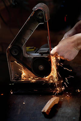 Photograph - Handling Sparks by Jean Gill