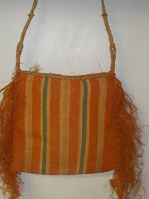 Stiched Photograph - Handmade African Bag by Chantal W