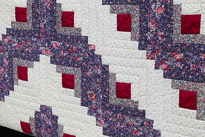Photograph - Handmade Amish Quilt by Robin Coventry