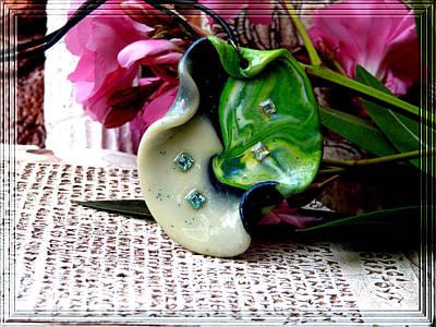 Handmade Art In Nature Art Print by Chara Giakoumaki