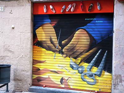 Photograph - Handmade In Barcelona by John Rizzuto