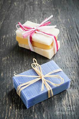 Photograph - Handmade Soaps by Elena Elisseeva