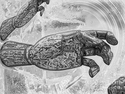 Fineness Digital Art - Hands Artist by Daniela Constantinescu
