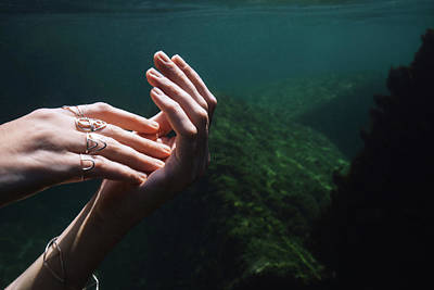 Photograph - Hands by Gemma Silvestre