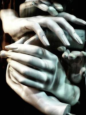Photograph - Hands In A Jar by Newel Hunter