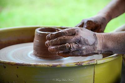 Photograph - Hands Of A Caregiver Series 2 by Mary Ward