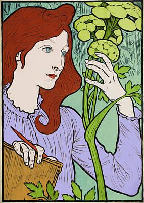 Digital Art - Hands Of A Gardener by John Haldane